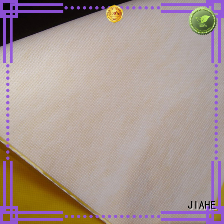 Hot fabric for reusable shopping bags dyed JIAHE Brand