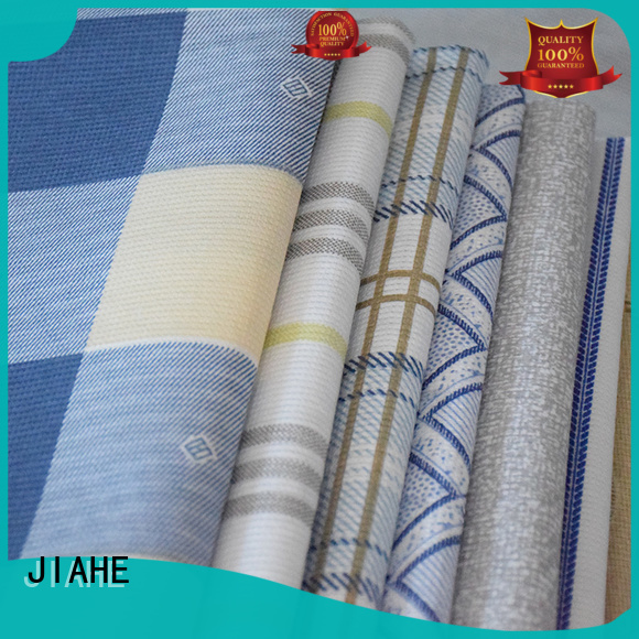 upholstery Custom textile printed non woven fabric stitch JIAHE