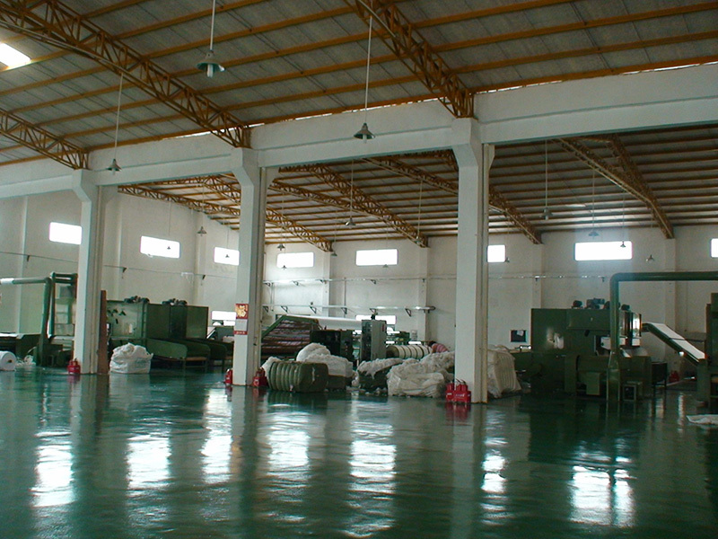 we improve our non woven fabric machines and make the output more larger