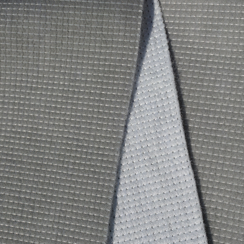 non slip material fabric 100Gsm 2.1m grey coated stitch bond mattress components textiles