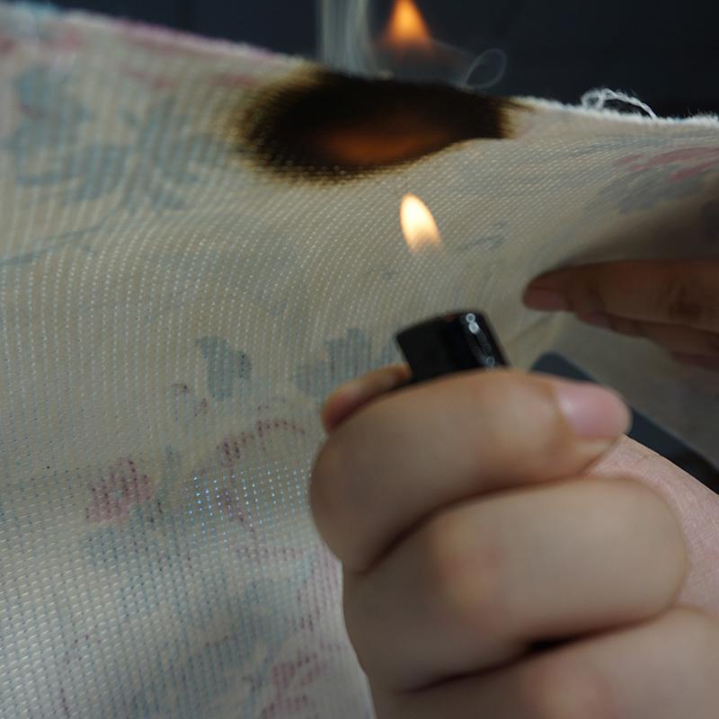 mattress covering fabric CFR1633 print stitch bond fabrics in bedding industry