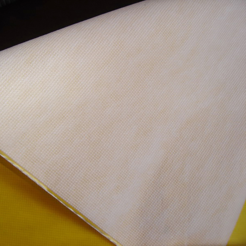non woven bag material 14 guage White 80gsm laminated stitchbond material for RPET bags