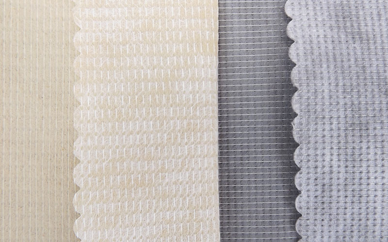 coated stitch bond textile