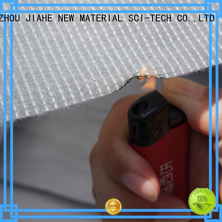 JIAHE Brand slip sofa gauge custom recycled polyester fabric