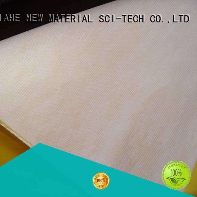 stitchbond material laminated fabric for reusable shopping bags JIAHE Brand company