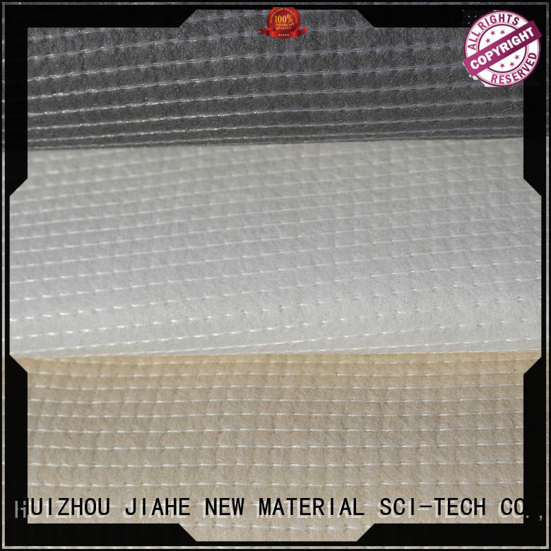 coat odm materials recycled polyester fabric JIAHE manufacture
