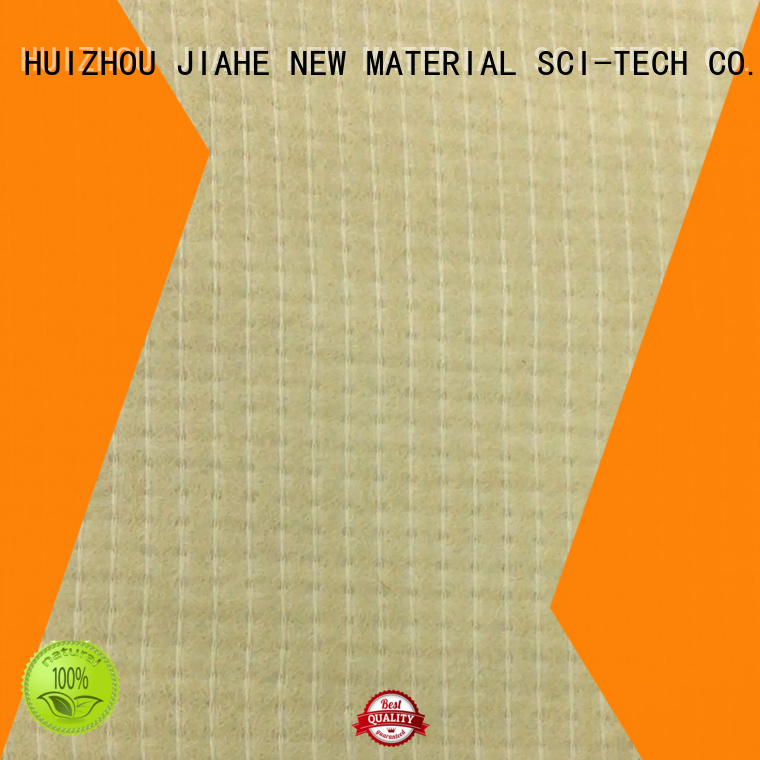 recycled polyester fabric coated JIAHE Brand non woven fabric