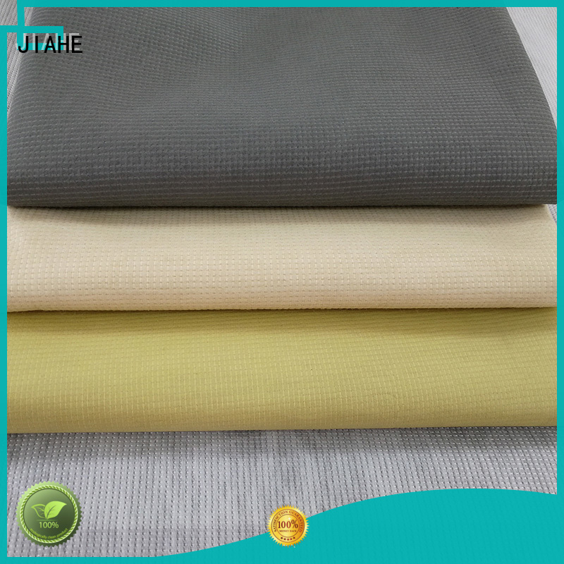 recycled polyester fabric cloth non woven fabric JIAHE Brand