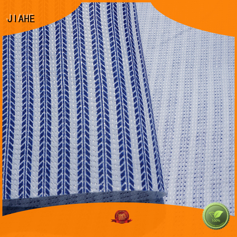 JIAHE Brand material retardant fire resistant fabric wholesale bedding