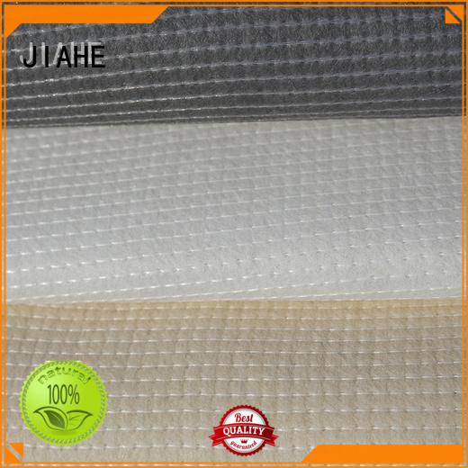 JIAHE Brand ticking covers recycled polyester fabric grey