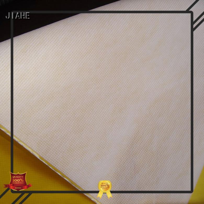 JIAHE Brand fabrics woven reusable bag fabric material supplier