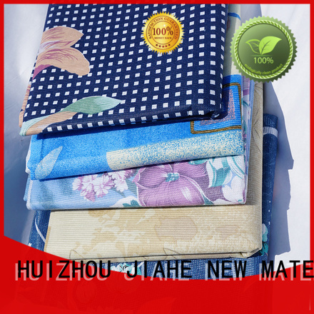 Hot textile printed non woven fabric stitch ticking JIAHE Brand
