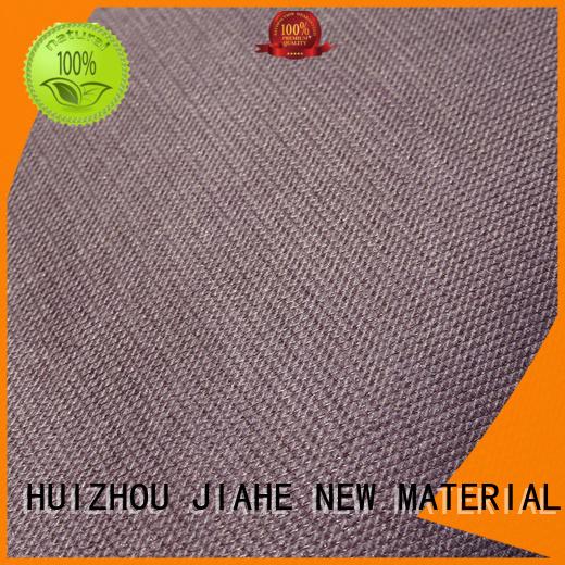 JIAHE Brand logo various eco polyester nonwoven supplier