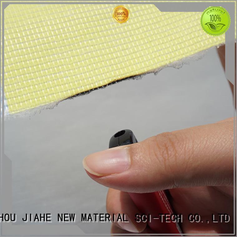 Quality JIAHE Brand printed fire retardant fabric