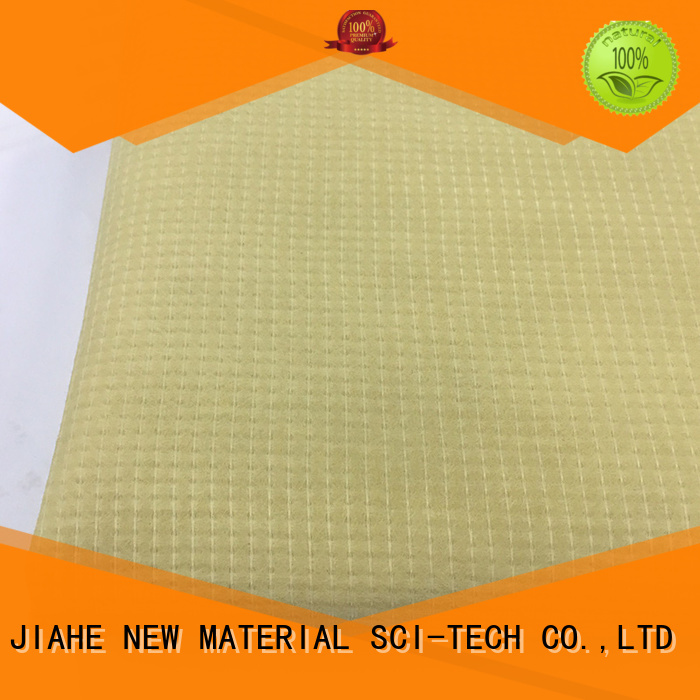 stitchbonded nonwoven ticking recycled polyester fabric JIAHE manufacture